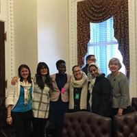 Students visiting Washington DC
