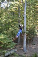 Zipline at Camp Todd