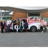 iFrog Digital Marketing staff members support Clark Comprehensive Breast Center