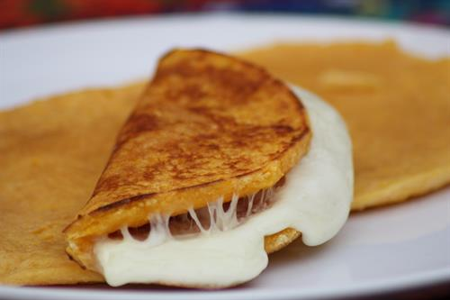 Sweet Corn Arepa