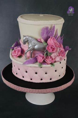 Kentucky Derby Hat Cake