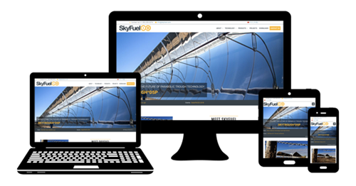 Full span, mobile ready web design