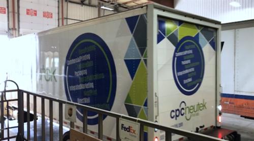 Custom Wrapped Truck