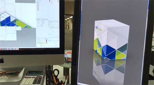 Folded Carton Design and 3-D Renderings