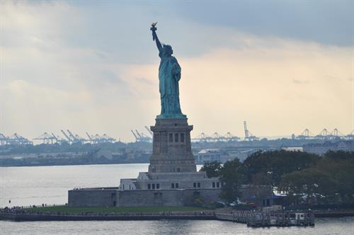 Lady Liberty on our NY Cruise