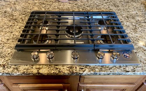 "30"" Stainless Steel Gas Cooktop Installation in Denver!"
