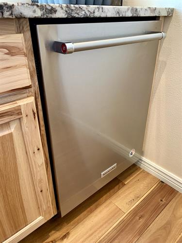 Stainless Steel Kitchenaid Dishwasher Installation in Arvada!