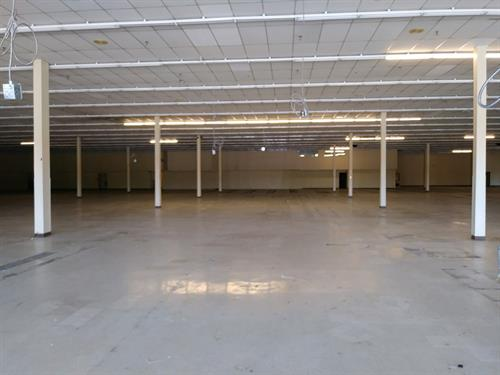 Paint and ceiling tile replacement for a commercial site to prep for new tenants