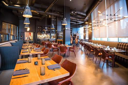 Custom furniture and fixtures for restaurants, retail, breweries and hotels