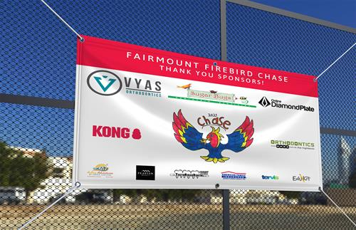 Local School Sponsor Banner