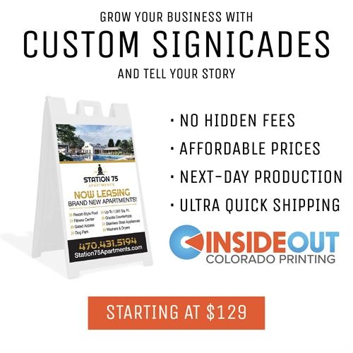 Custom Signicades and Signs