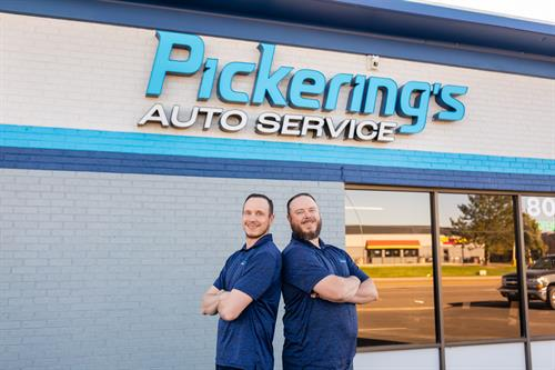 Owners Trent and Brandon Pickering