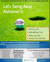First Annual Golf Tournament at Indian Tree Golf to Benefit Alzheimer's