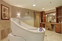 Spa with Heated Towel Rack, Aroma Therapy and Surround Sound