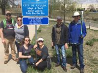 Cleaning the Ralston Creek Trail