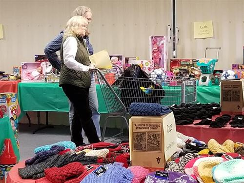 Devoting our time and donations for the Arvada Santa House