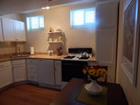 The Garden's spacious and full-equipped kitchen.