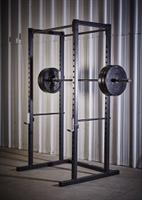 Power Rack, Bumper Plates & Olympic Bar