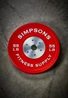 Competition Bumper Plates KG & LBS