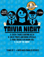 Thursday Trivia Night