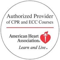 We are an authorized training site for American Heart Association