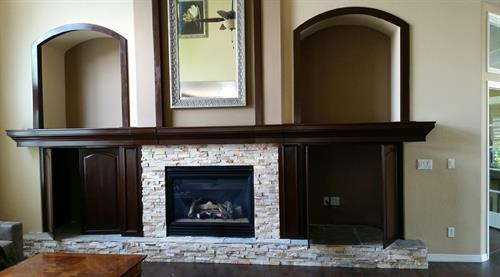 Ledgestone and Custom built-ins
