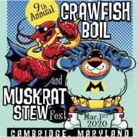 Crawfish Boil and Muskrat Stew Fest