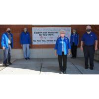 Auxiliary of Memorial Hospital at Easton supports health care workers