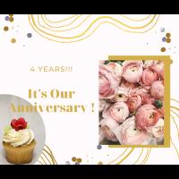 Celebrating 4 Years!