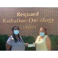 Hurlock United Methodist Church donates $2624 to benefit the Wig Room at UM Shore Regional Health's