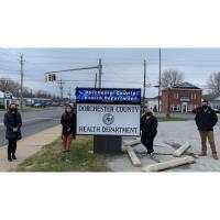 The Dorchester County Health Department received MDH Secretary's Customer Service Spotlight
