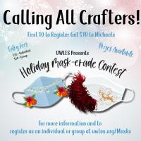 UWLES 2020 Mask-Erade Contest Event