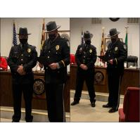 Town of Hurlock Celebrates Two Officers