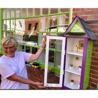 Cambridge's First Little Free Gallery is at Main Street Gallery