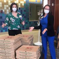 Community Donations Support Frontline Team Members at UM Shore Regional Health