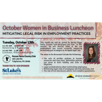 Women in Business Luncheon October 2020