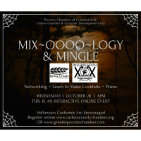 CANCELLED: Mix(oooology) & Mingle With Barley Creek Brewing Co. & Insurrection Distillery (Live Online Event)