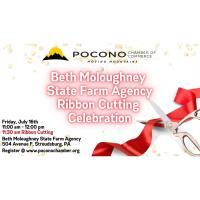Beth Moloughney State Farm Agency Ribbon Cutting