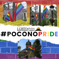 Pocono Chamber's LGBTQ+ Business Council blankets business thoroughfares within two boroughs of Monroe County