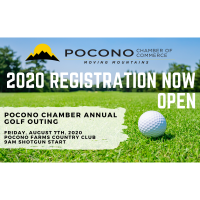Register Now for the Pocono Chamber's Annual Pocono Chamber Golf Outing