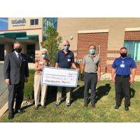 Lehighton Auxiliary Presents Donation for New Carbon Campus