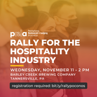 Hospitality Industry Rally Planned for the Poconos