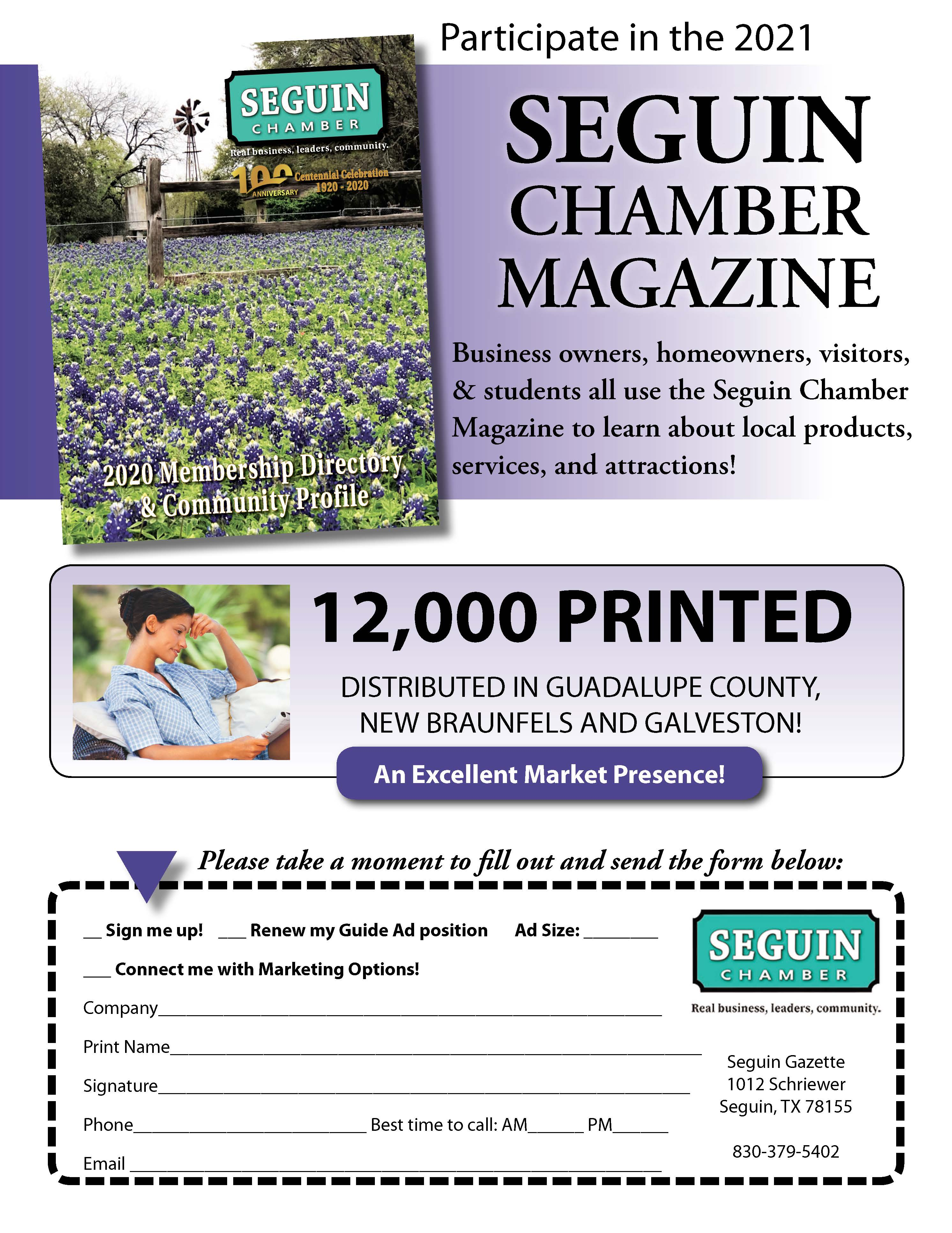 2021 Chamber Directory and Community Profile