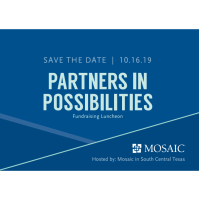 Save the Date! Partners in Possibilities Luncheon