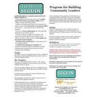 Leadership Seguin applications due 9/18