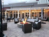 Outdoor Patio with Fire Pit and Barbecue Grill