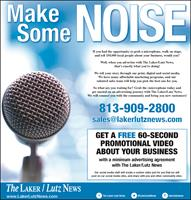 The Laker/Lutz News - Land O' Lakes