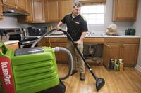 We can extract water from hard services including wood floors, concrete, carpets and more.