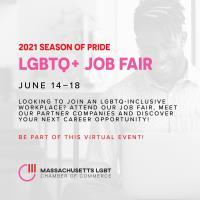 MALGBTCC 2021 Season of Pride LGBTQ+ Job Fair