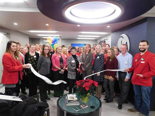 2018 Ribbon Cutting for CLA's Office Renovation